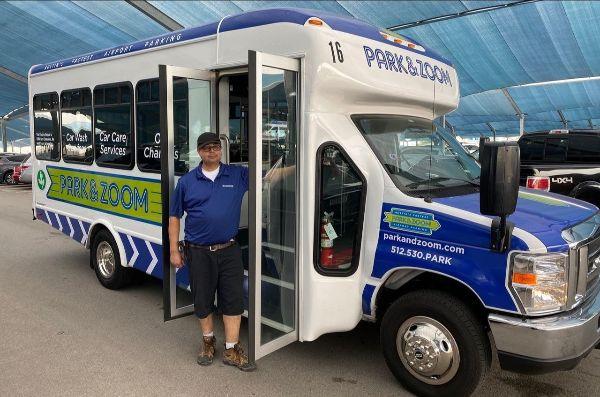 Park & Zoom Adds Three ZEUS Electric Shuttle Buses to Fleet